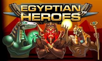 Spiele den Egyptian Heroes Slot bei Casumo.com